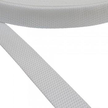 Ιμάντας συνθετικός 25mm λευκός