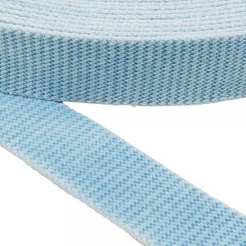 Ιμάντας ζώνης βαμβακερός 40mm Γαλάζιος