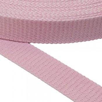 Ιμάντας ζώνης Βαμβακερός 30mm Ροζ