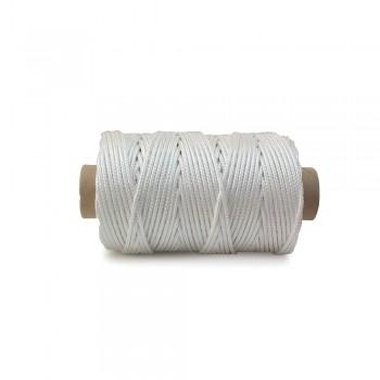 Κορδόνι 3mm λευκό στρογγυλό