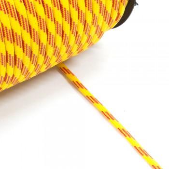 Κορδόνι στρογγυλό κίτρινο-κόκκινο