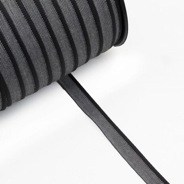 Κορδέλα για κεφαλάρι βιβλίων μαύρη 13mm