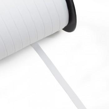 Κορδέλα γκρο λευκή 10mm