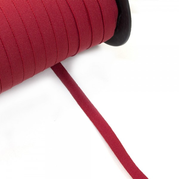 Κορδέλα γκρο κόκκινο βαθύ 10mm