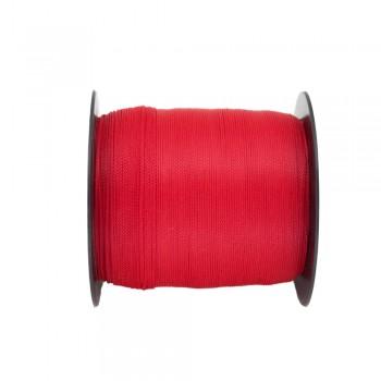 Κορδόνι αλυσιδάκι ρεγιόν κόκκινο 0,5mm