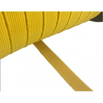Λάστιχο καλτσοδέτα κίτρινη 15mm