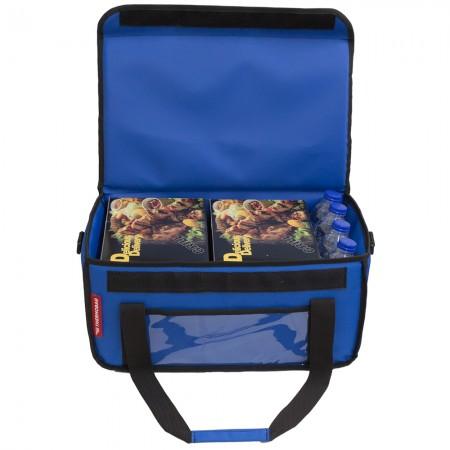 Ισοθερμική Τσάντα Delivery για Φαγητό Θερμόσακος Μεταφοράς Φαγητού 30 λίτρα σε μπλε ρουά χρώμα