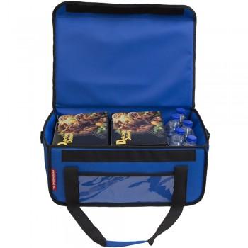 Ισοθερμική Τσάντα Delivery για Φαγητό Θερμόσακος Μεταφοράς Φαγητού 40 λίτρα σε μπλε ρουά χρώμα